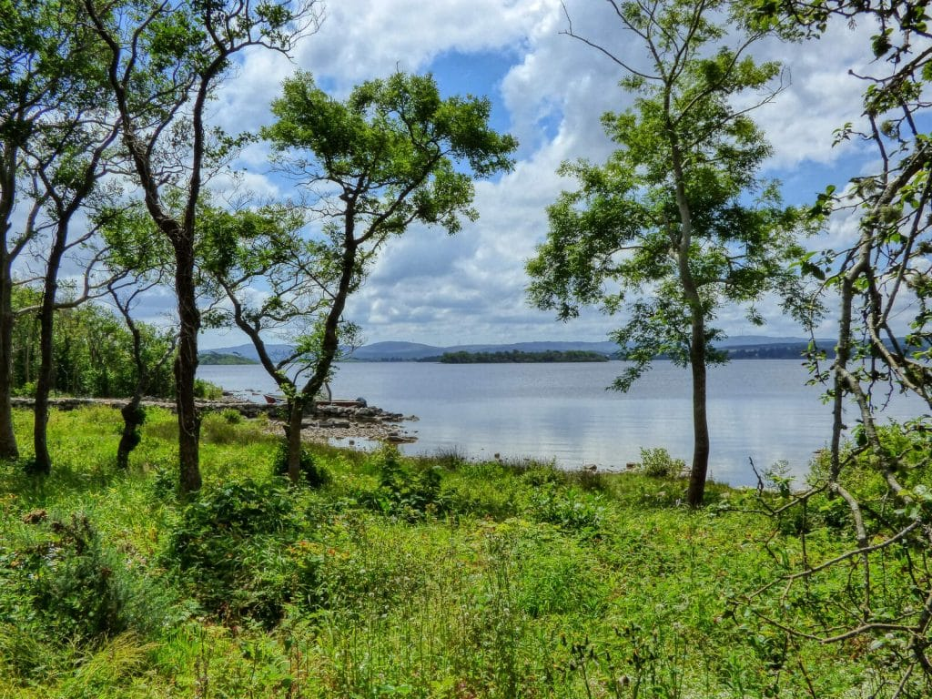 Lough Corrib is one of the most beautiful lakes in Ireland.