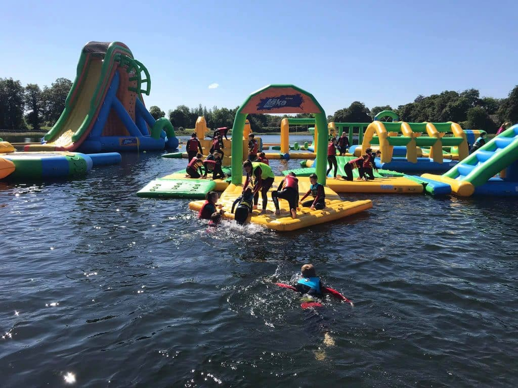 The Lake Kilrea is one of the best waterparks in Ireland.