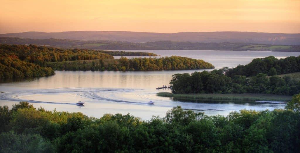The Fermanagh Lakelands offer fantastic views of Lough Erne.