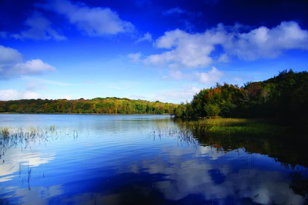Lough Erne is one of the most beautiful lakes in Ireland.
