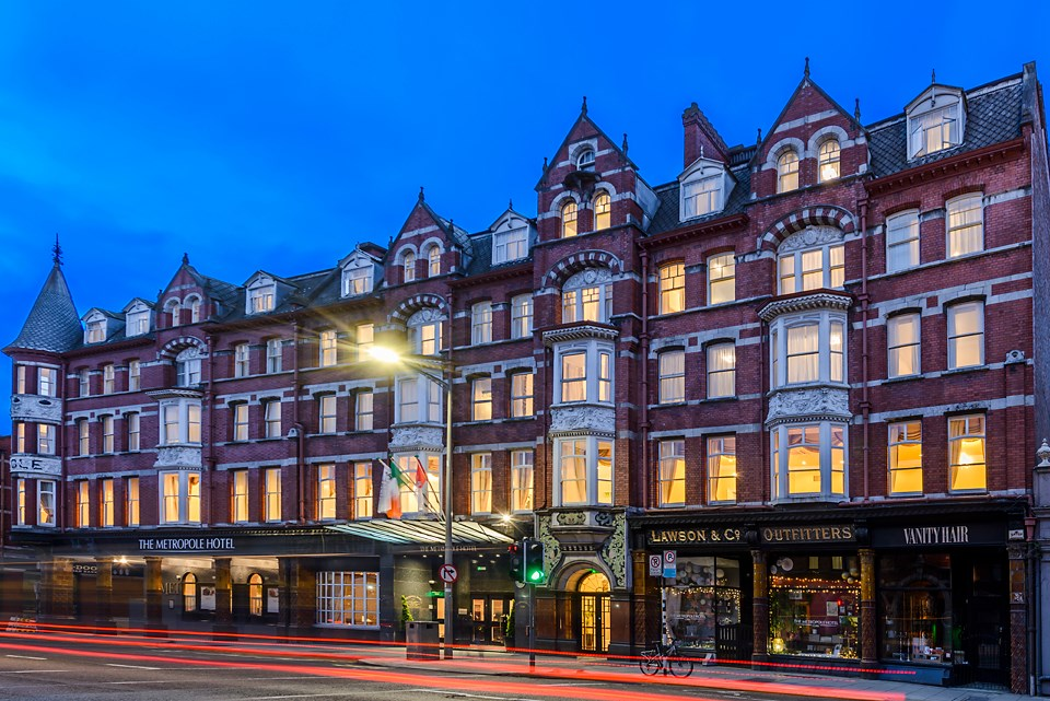The Metropole Hotel is one of the most historic hotels in Europe.