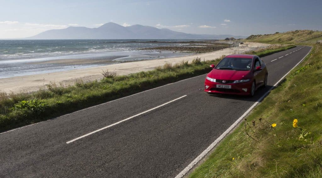The Mourne Coastal Route is one of the most scenic drives in Northern Ireland.
