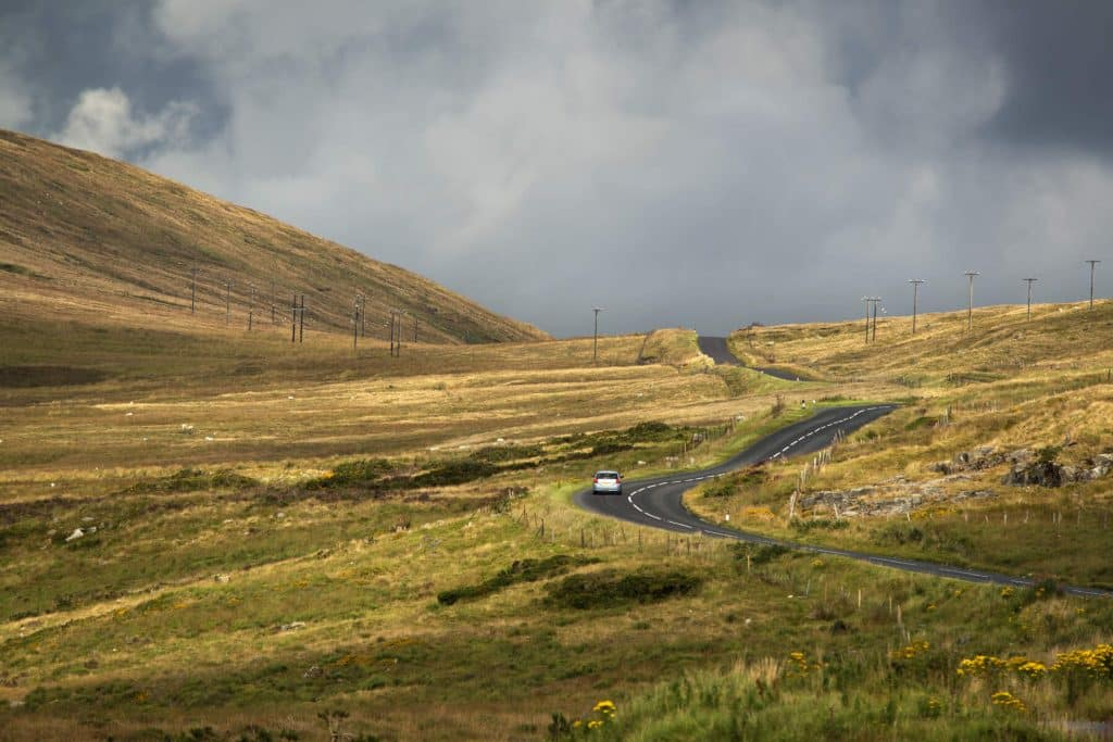 The High Mournes Scenic Loop is one of the most scenic drives in Northern Ireland.