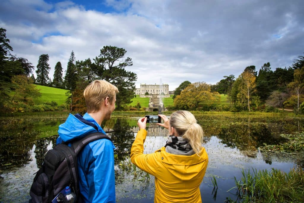What to bring when you visit Powerscourt Waterfall.