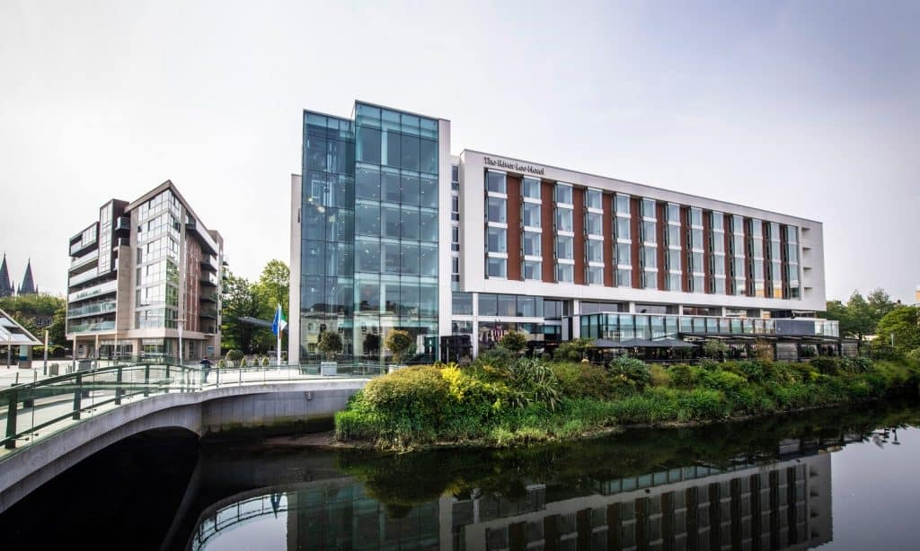 The River Lee Hotel is one of the snazziest 5-star hotels in Cork.