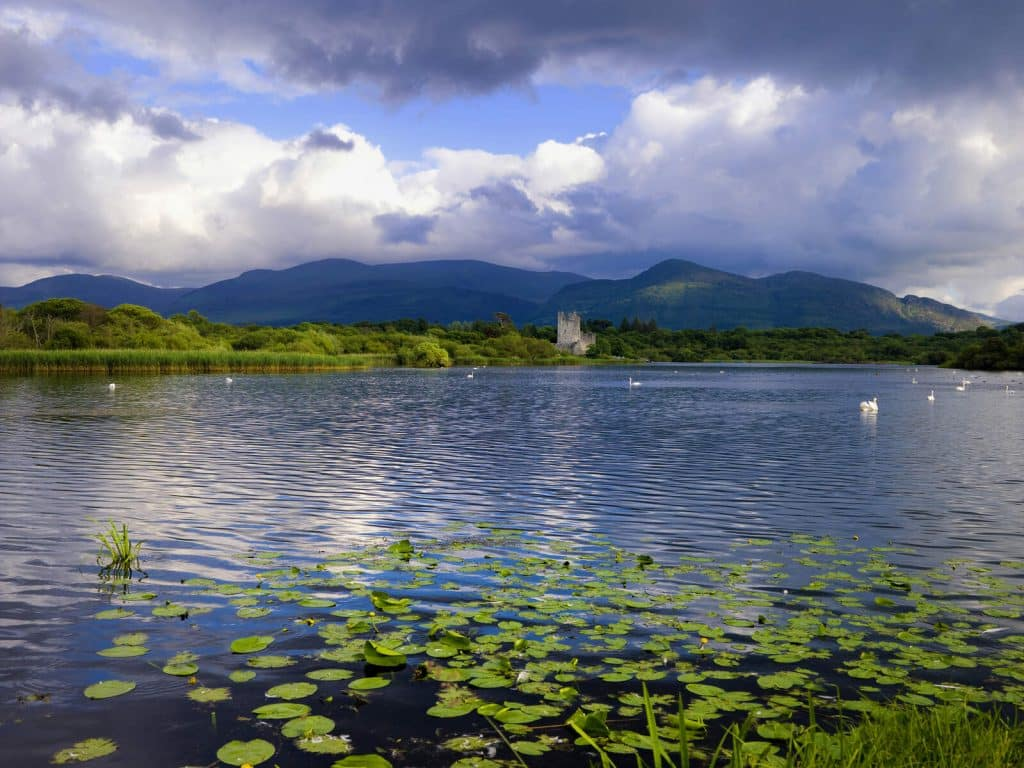Lough Leane in County Kerry is known as the 'Lake of Learning'.