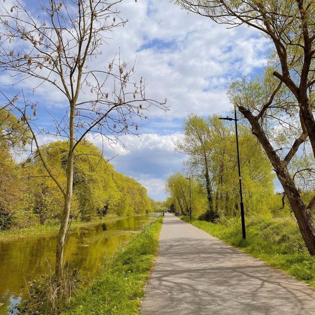 The Royal Canal Greenway opened earlier this year.