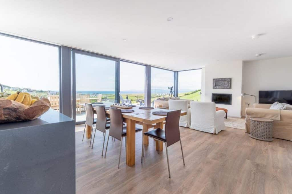 Salt House in Donegal is one of the best sea view cottages in Ireland.