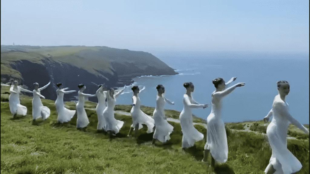 Irish dancers show off their skills on the Wild Atlantic Way.