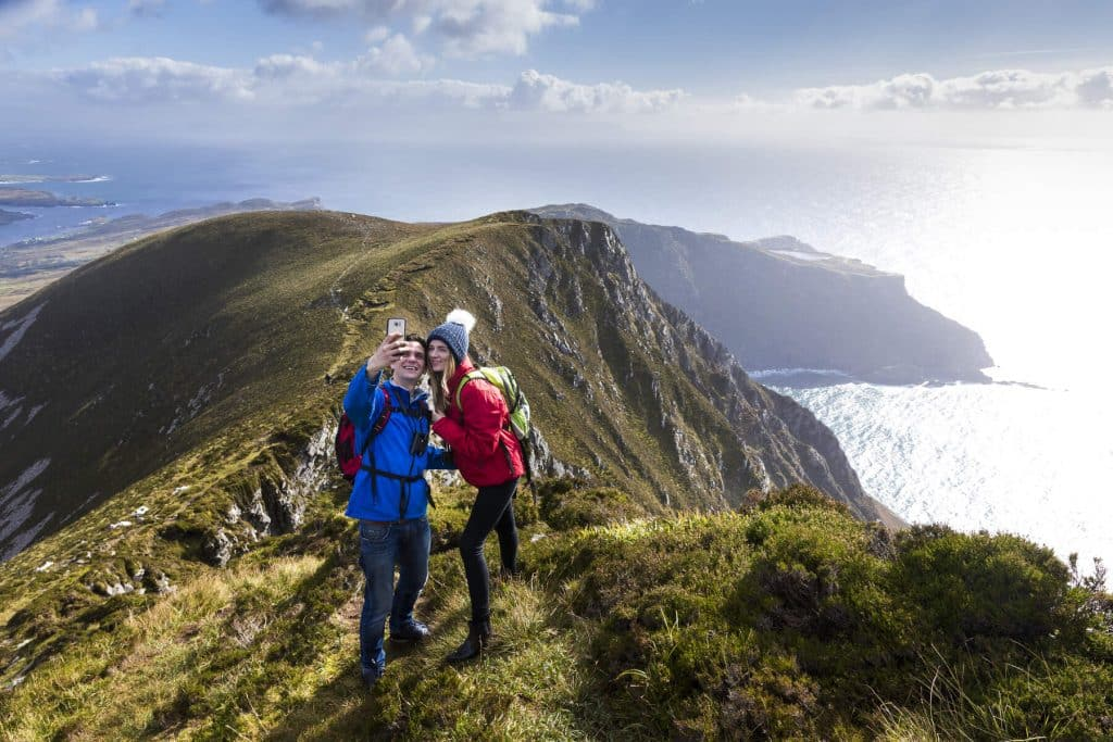 Hiking the Sliabh Liag Cliffs is one of the best free things to do in Ireland.
