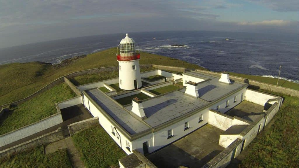 St John's Point is one of the best sea view cottages in Ireland.