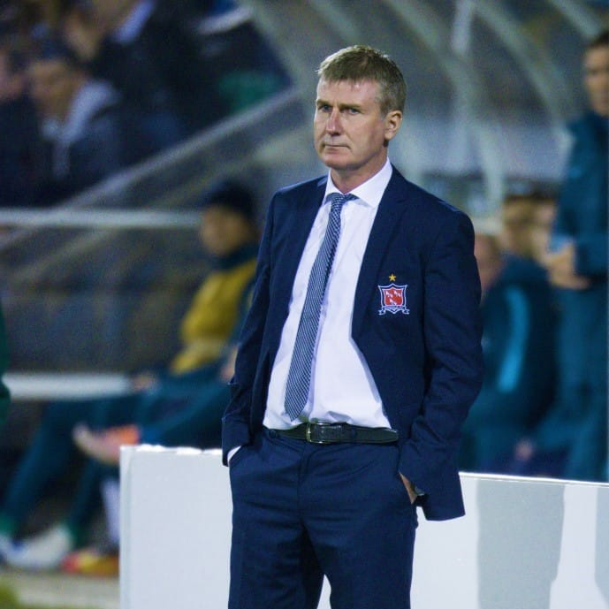 Ireland manager Stephen Kenny replaced Mick McCarthy.