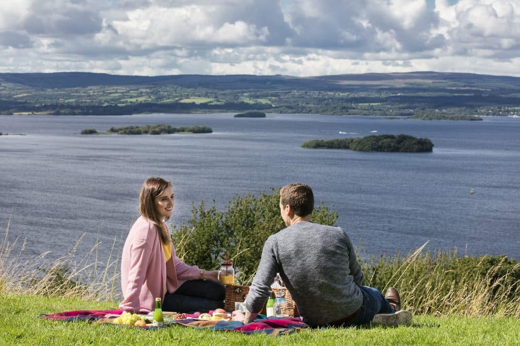 Lough Derg is one of the most beautiful lakes in Ireland.