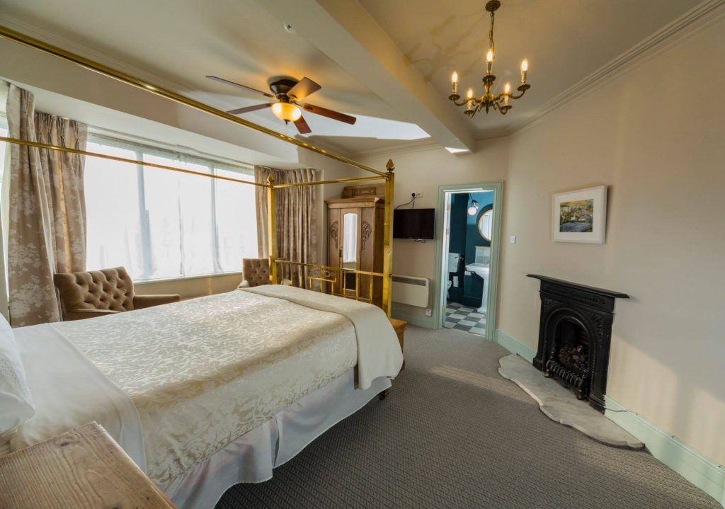 The Old Presbytery is one of the snazziest 5-star hotels in Cork.