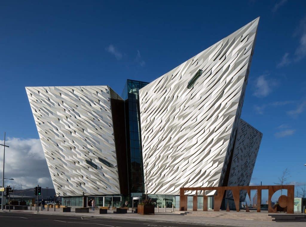 Visit Titanic Belfast.