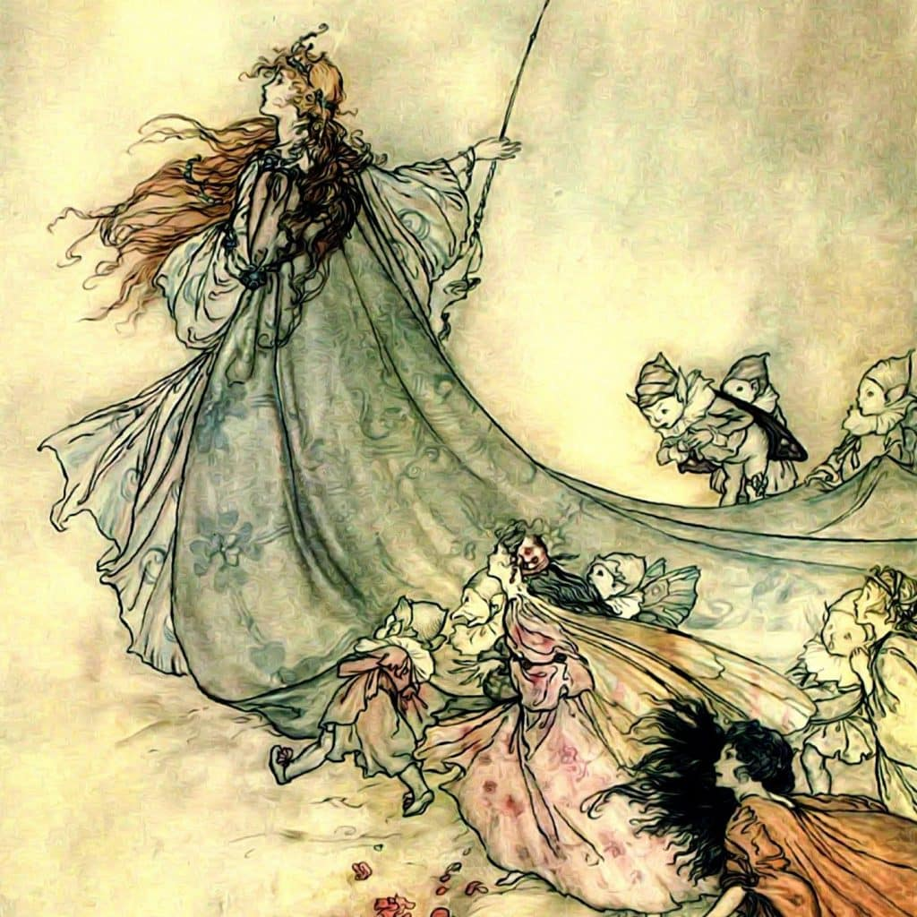 Oonagh was the queen of the fairies.