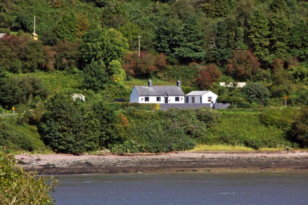 The Cottage at Youghal Bridge is one of the best best sea view cottages in Ireland.