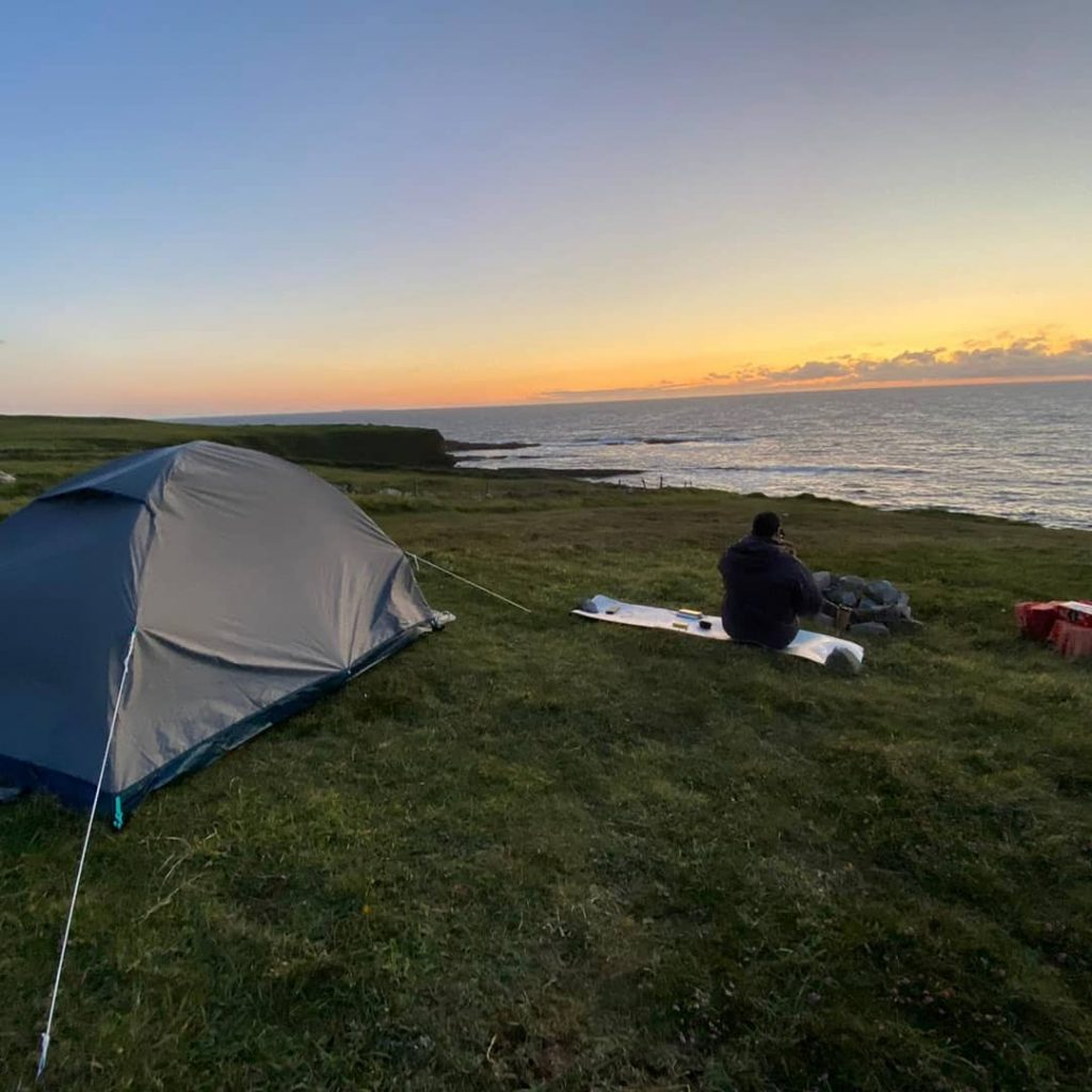 Wild camping along the Wild Atlantic Way is an experience everyone should have at least once.