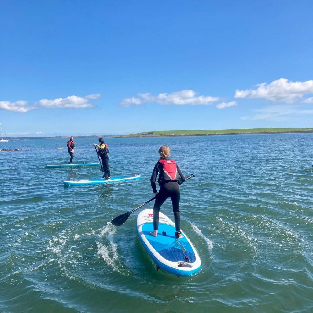 Strangford Lough is one of the best paddleboarding spots in Northern Ireland.
