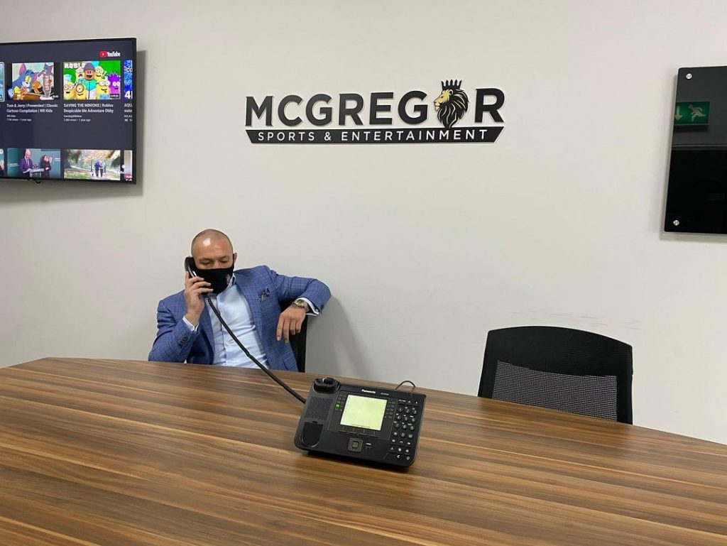 McGregor relied on social welfare.