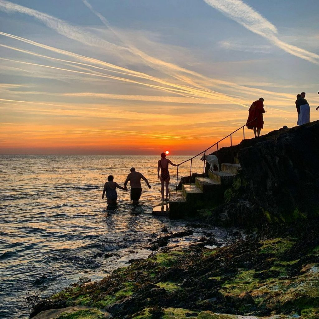 Make the most of the seaside during your 24 hours in Greystones.