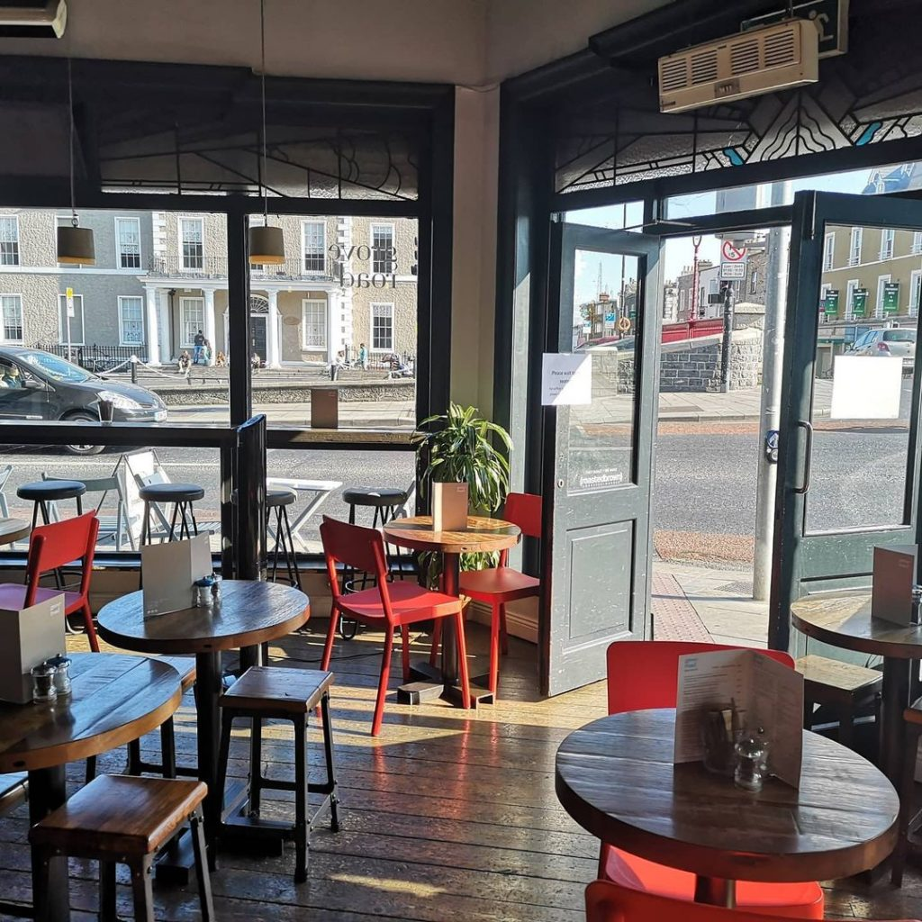 Grove road has charm and great ambiance for any coffee lover.