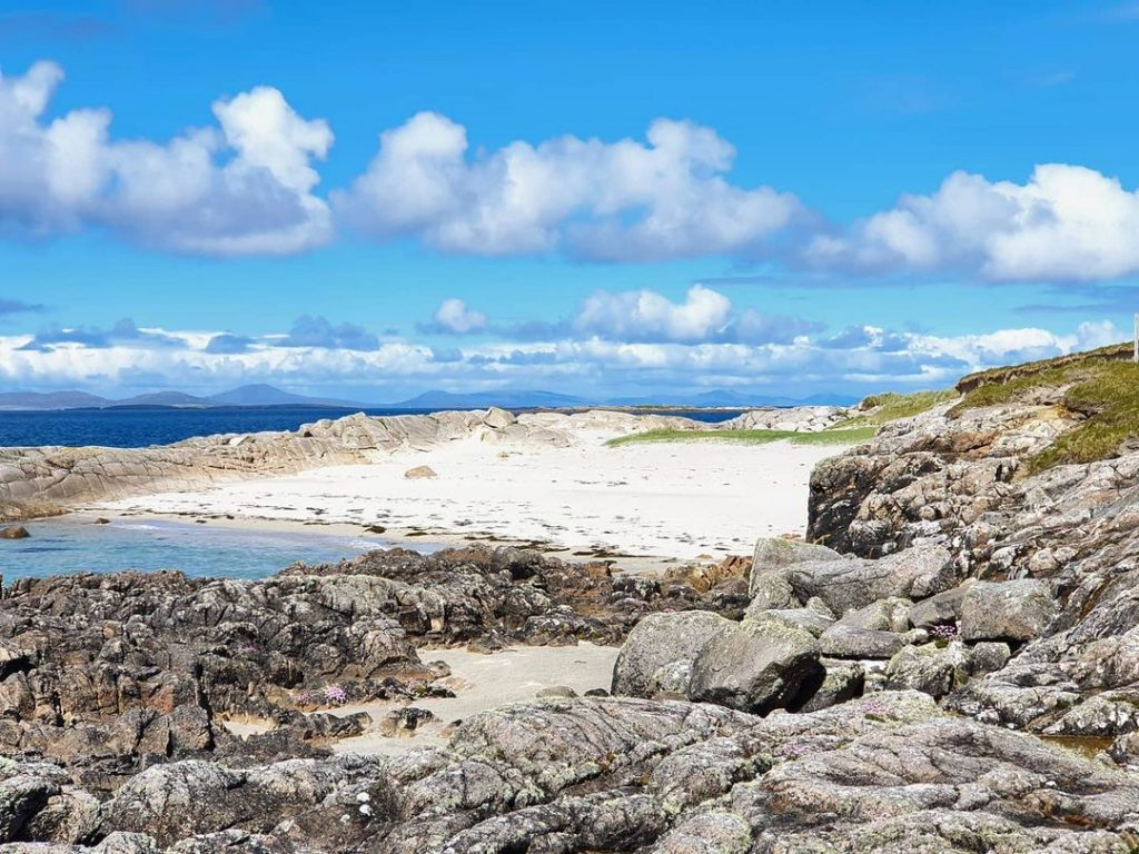 Aughrus Bay tops our list of best wild sea swimming spots in Ireland.