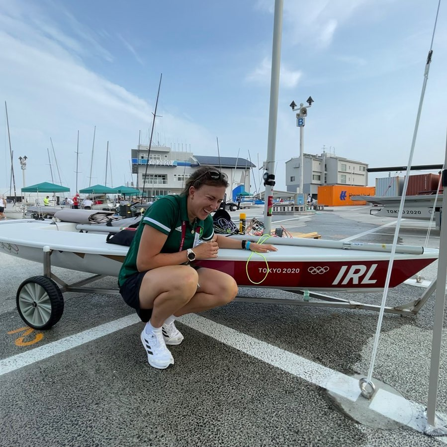 Annalise Murphy has high hopes for this year's games.