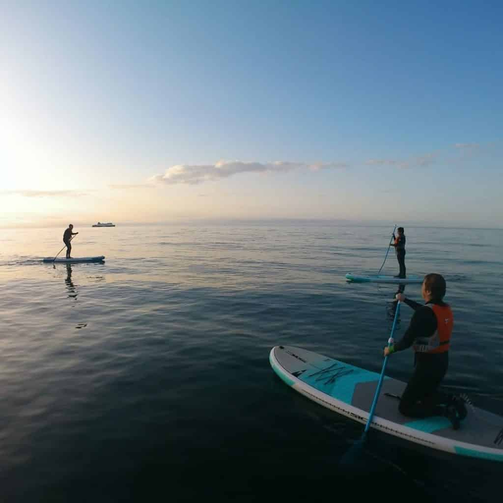 Islandmagee is one of the best paddleboarding spots in Northern Ireland.