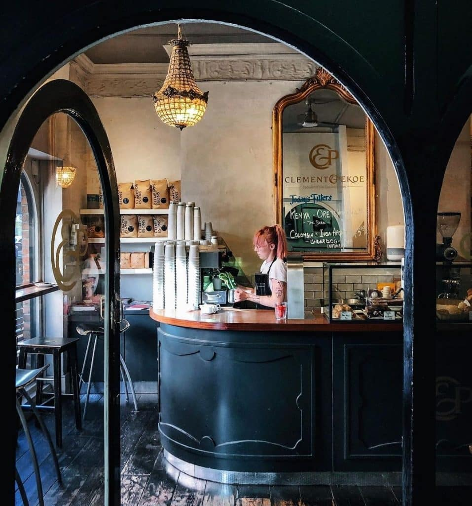 Clement and Pekoe has some of the best interiors, as well as the best coffee in Dublin.