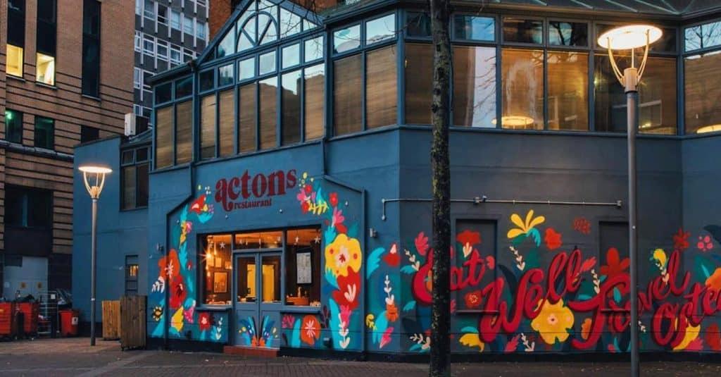 Actons is one of the best vegan restaurants in Belfast.