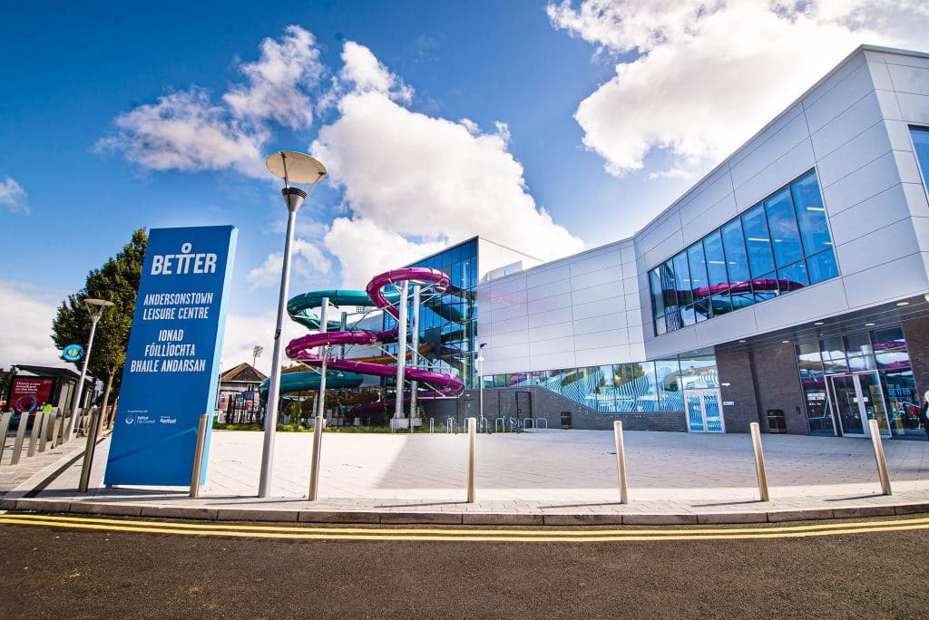 Andersonstown Leisure Centre is home to one of the best waterparks in Ireland.