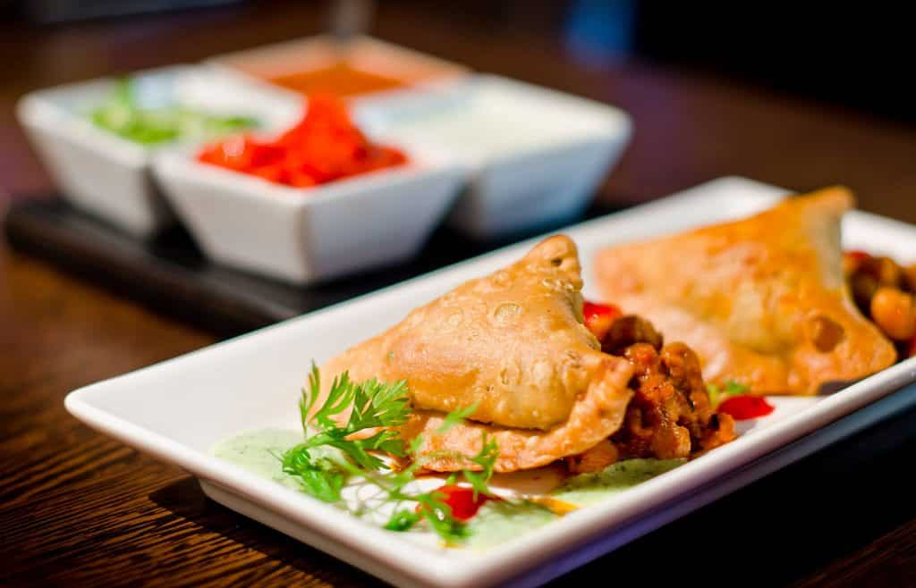 Archana serves amazing Indian food.