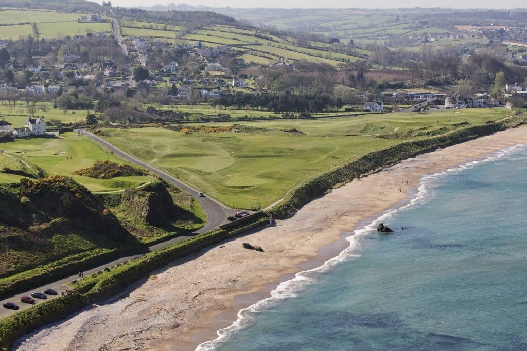 Ballycastle Strand is one of the best beaches in Antrim.