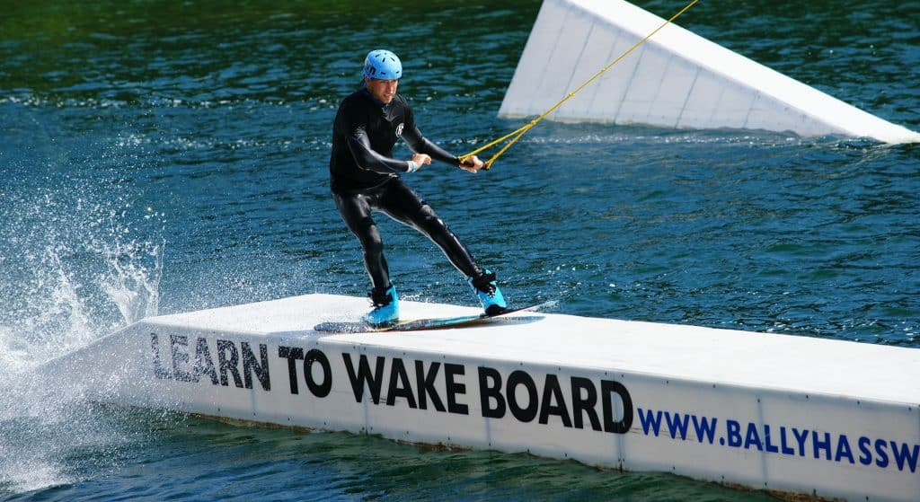 Ballyhass Wakepark tops our list of places for watersports in County Cork.
