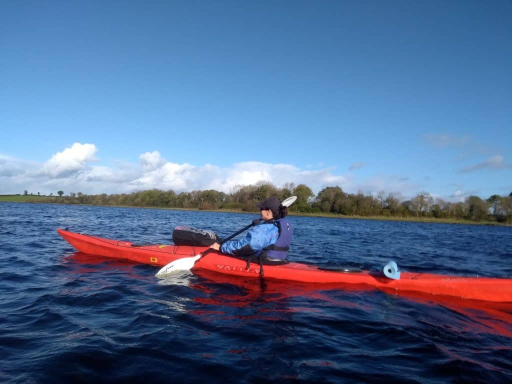 The Lower Bann is one of the best spots for kayaking in Ireland.