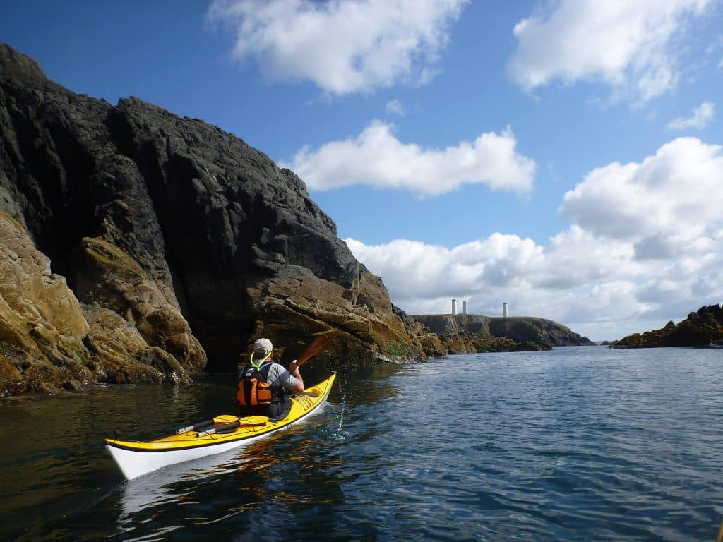 The Copper Coast offers wonderful displays of Irish nature.