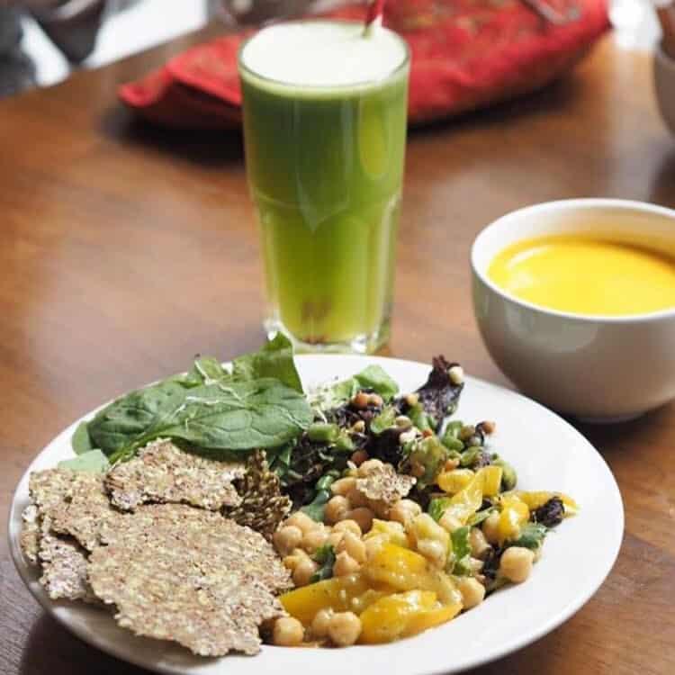 Cornucopia Wholefoods Restaurant is one of the best vegan restaurants in Dublin.