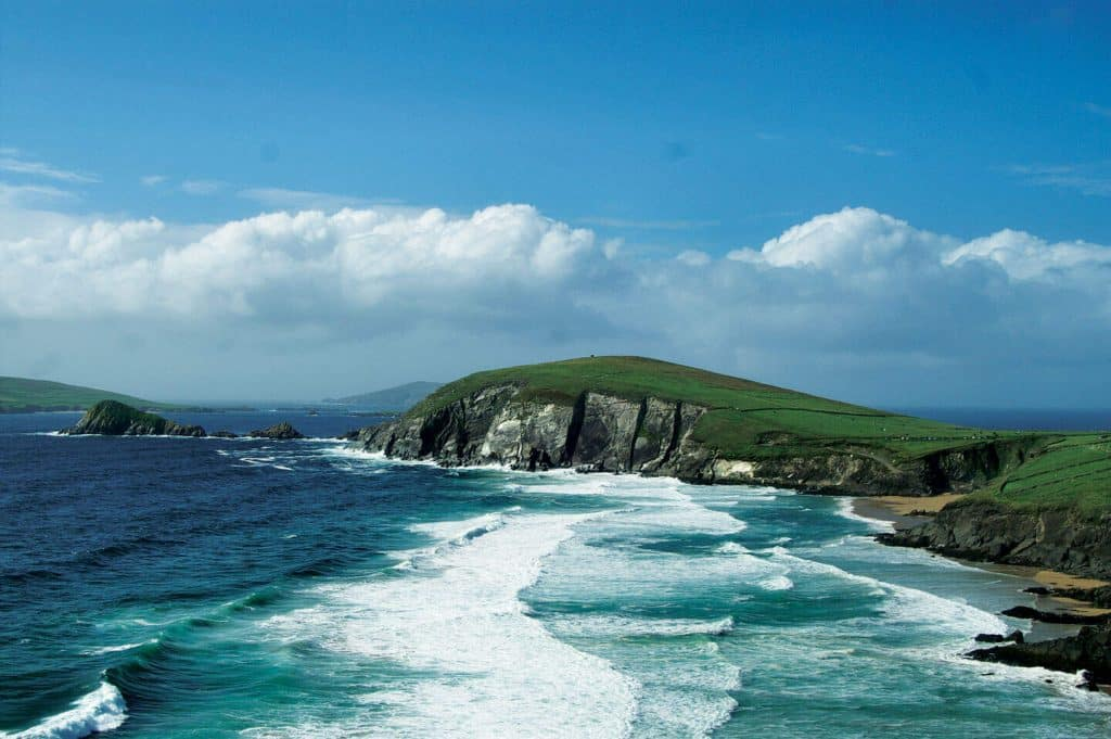 An Irish hiking trail was named one of the most beautiful in the world.