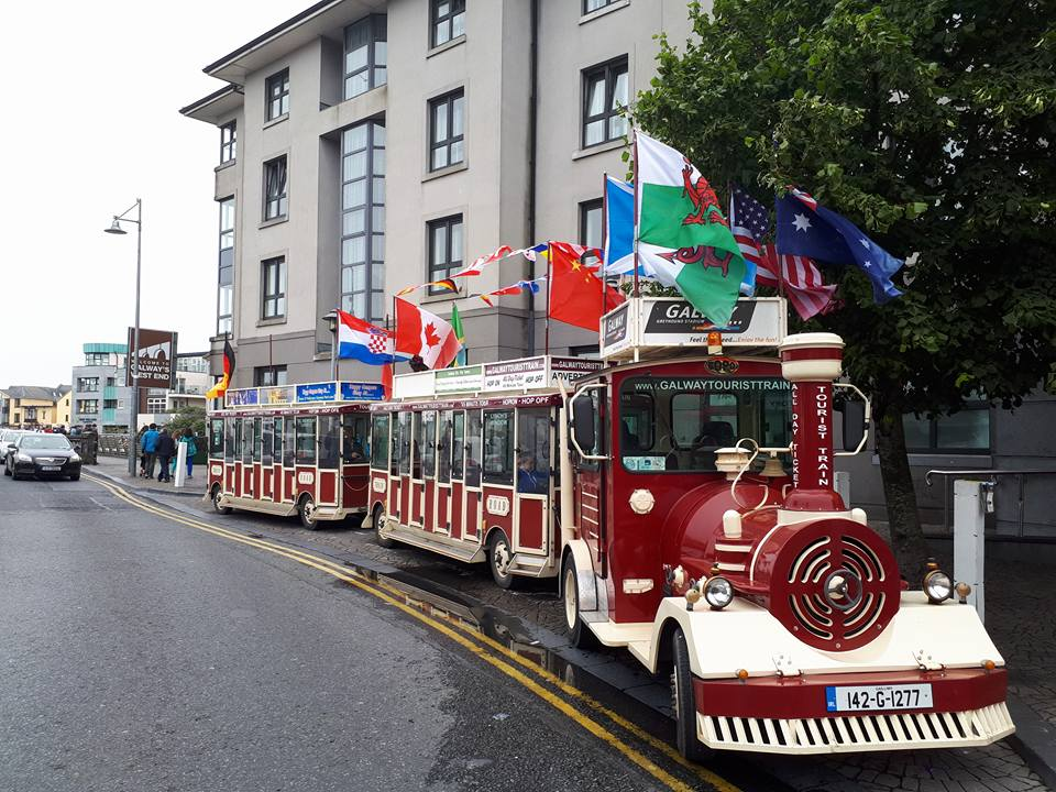 The Galway Tourist Train is one of the best things to do with kids in Galway.
