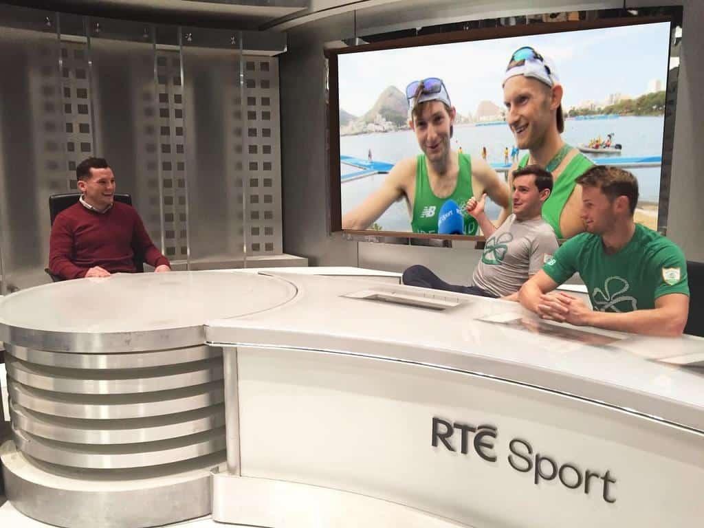 Irish rowers win Olympic Gold at Tokyo 2020.