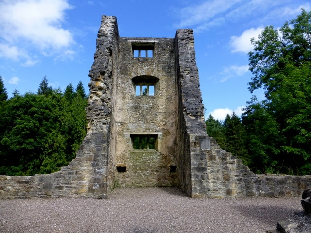 First up on our list of hidden gems in County Fermanagh is Old Castle Archdale.