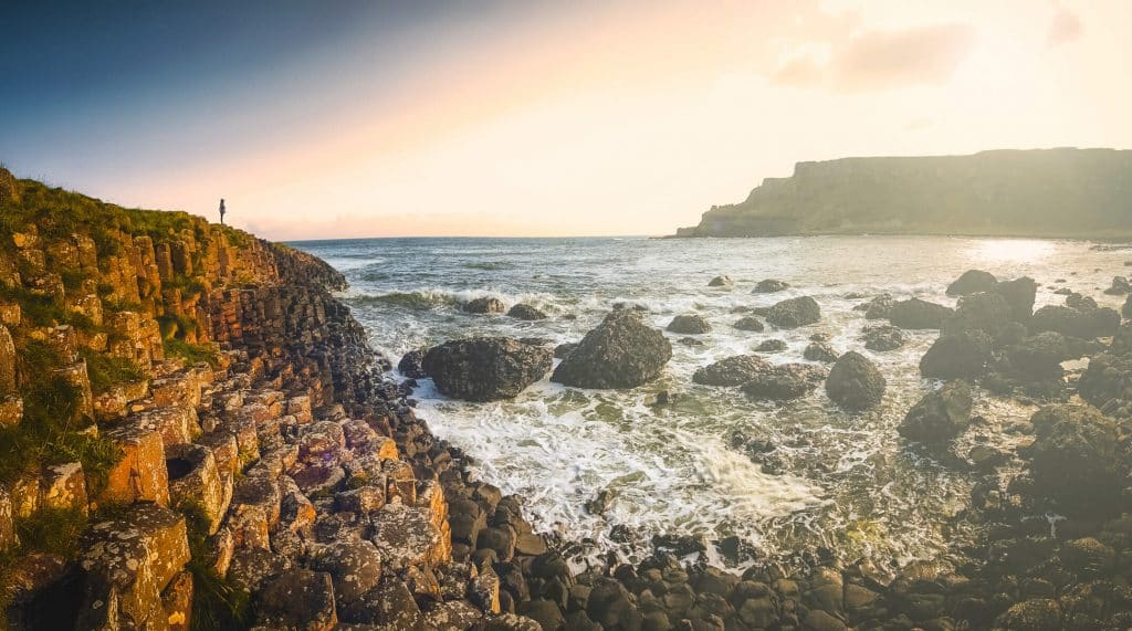 The Giant's Causeway is perfect for a for a mythical moment to remember.