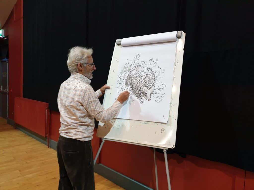 Take an art class with Gordon D'Arcy.