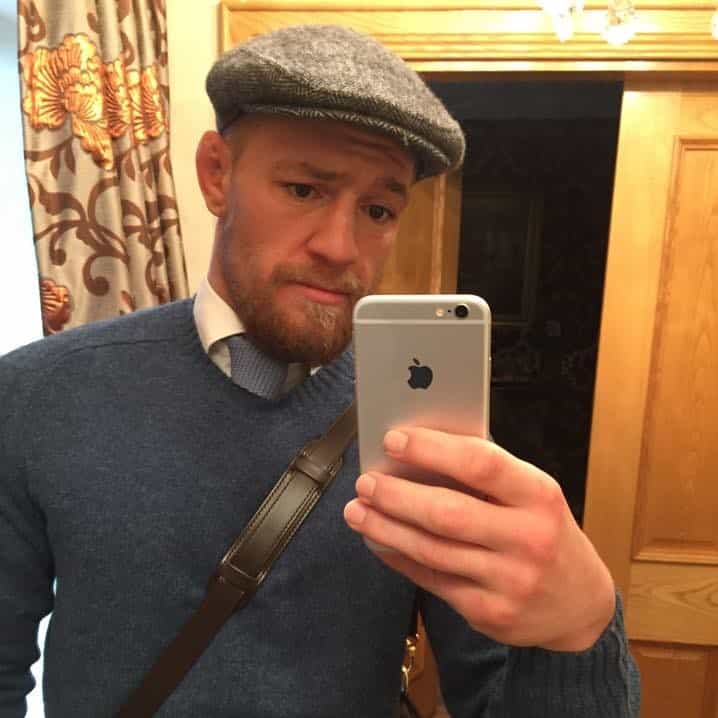 One of the most interesting facts about Conor McGregor is about his grandfather's cap.