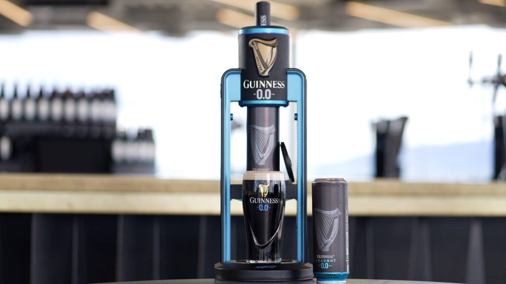 Belfast bar now serving alcohol-free Guinness.