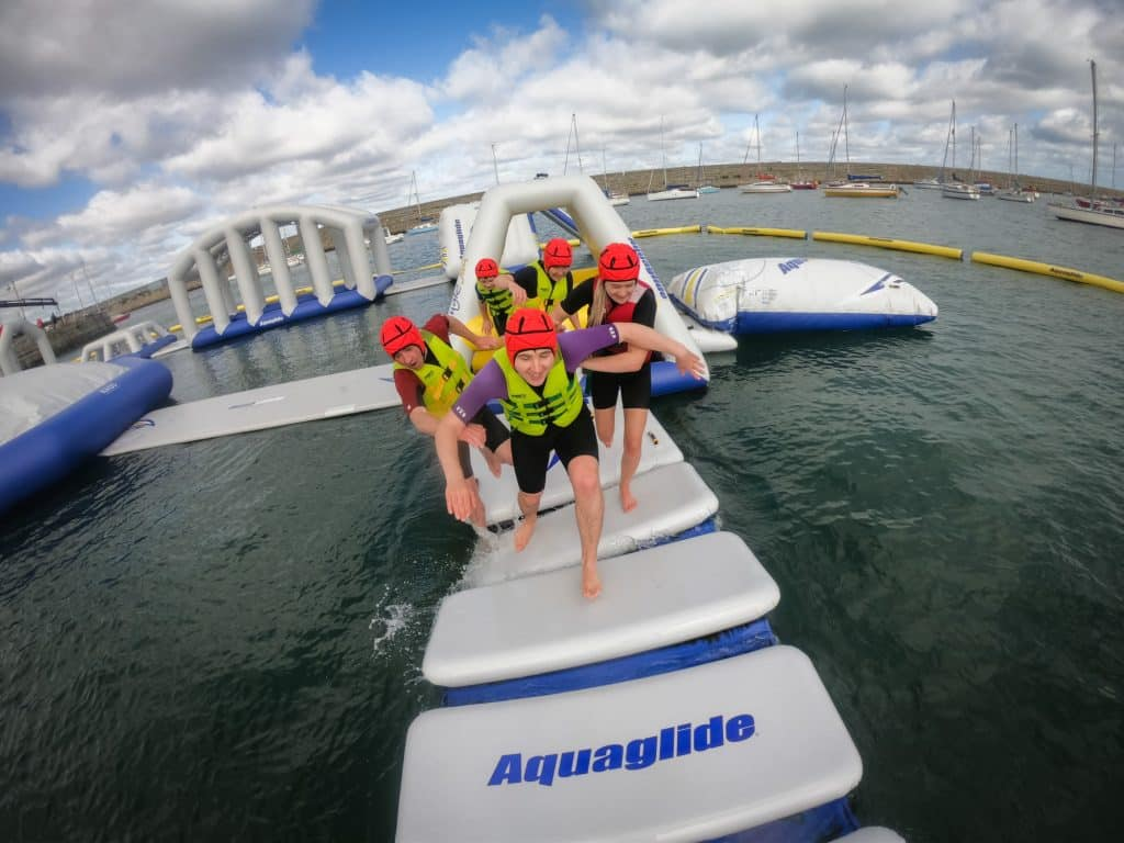 Harbour Splash is one of the best waterparks in Ireland.