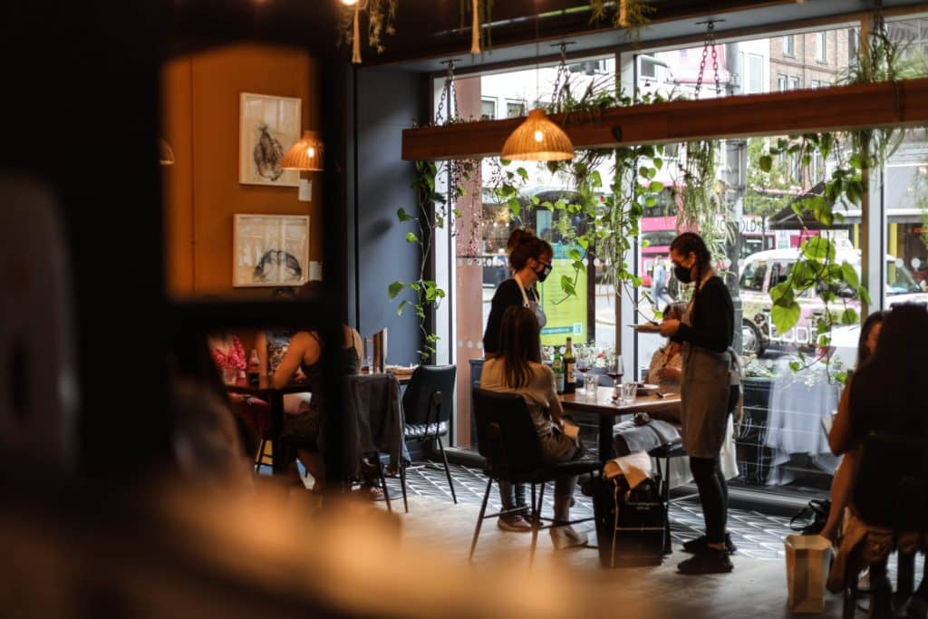 Home Restaurant is in the heart of the city centre.