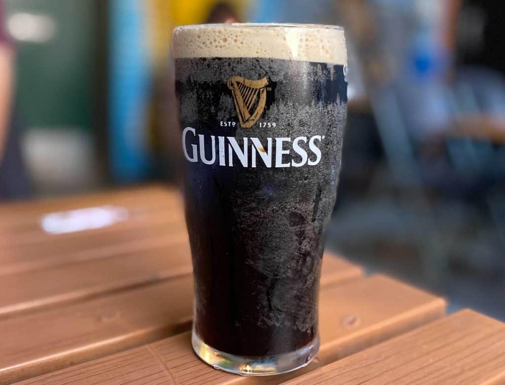 Belfast bar new serving alcohol-free Guinness.