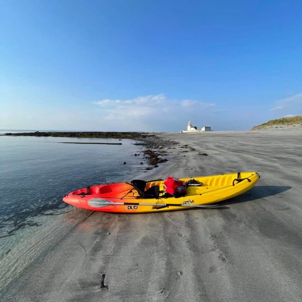 Inis Mor is one of the best spots for kayaking in Ireland.